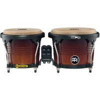 "Photo MEINL FWB190 BONGOS 6"" 3/4 & 8"" FREE RIDE BOIS - COFFEE BURST"