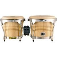 "Photo MEINL WB200 BONGOS 6"" 3/4 & 8"" FREE RIDE BOIS - NATUREL"