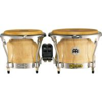 "Photo MEINL FWB400 BONGOS 7 & 8"" 1/3 FREE RIDE BOIS - NATUREL"