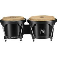 "Photo MEINL HB50 BONGOS 6"" 1/2 MACHO & 7"" 1/2 HEMBRA ABS - NOIR"