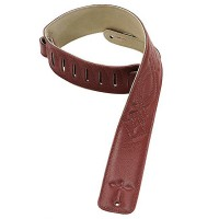 Photo LEVYS DM1SG SANGLE CUIR BURGUNDY
