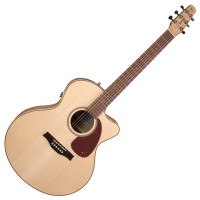 Photo SEAGULL PERFORMER CUTAWAY MINI-JUMBO FLAME MAPLE QIT