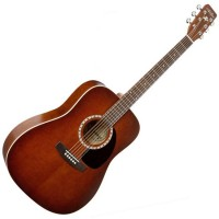 Photo ART & LUTHERIE DREADNOUGHT ÉLECTRO - CEDAR ANTIQUE BURST