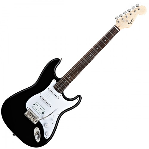 SQUIER BULLET STRATOCASTER HSS BLACK ROSEWOOD
