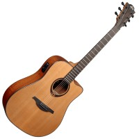 Photo LAG T200DCE TRAMONTANE DREADNOUGHT CUTAWAY ACOUSTIC/ELECTRIC