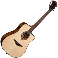 Photo LAG T300DCE TRAMONTANE DREADNOUGHT CUTAWAY ACOUSTIC/ELECTRIC