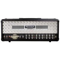 Photo MESA BOOGIE TETE TRIPLE RECTIFIER CHROME PANEL