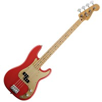 Photo FENDER CLASSIC '50S PRECISION BASS FIESTA RED