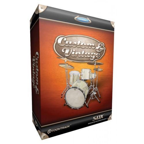 Toontrack custom vintage sdx achat plugin vst instrument virtuel too - Achat studio new york ...