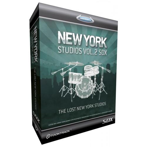 TOONTRACK NEW YORK STUDIO SDX