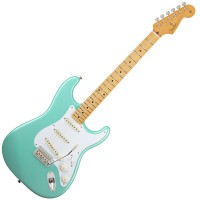 Photo FENDER CLASSIC '50S STRATOCASTER SURF GREEN MAPPLE
