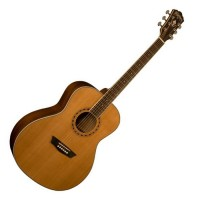 Photo WASHBURN WMJ11S - ACOUSTIQUE MINI JUMBO NATURELLE