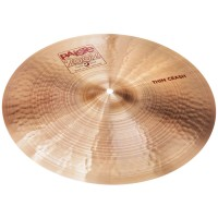Photo PAISTE 2002 THIN CRASH 17""