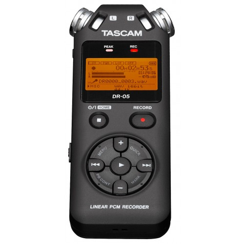 tascam dr 05 enregistreur numerique portable achat enregistreur num rique portable tascam. Black Bedroom Furniture Sets. Home Design Ideas