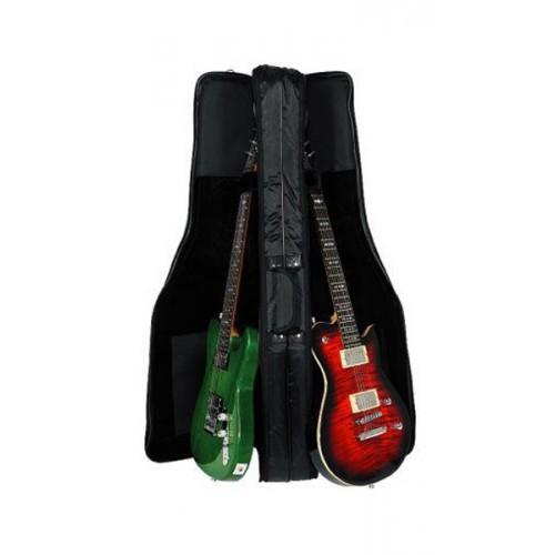 Rockbag housse premium pour 2 guitares electriques achat for Housse guitare electrique