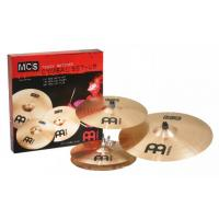 Photo MEINL MCS JEU 3 CYMBALES 14/16/20