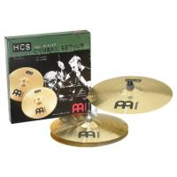 Photo MEINL HCS JEU 2 CYMBALES 14/16