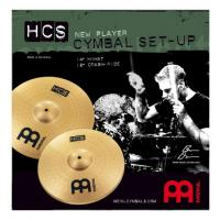 Photo MEINL HCS JEU 2 CYMBALES 14/18