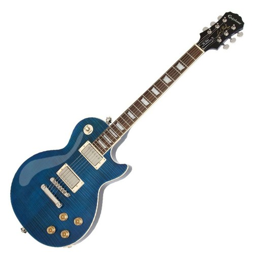 EPIPHONE LES PAUL TRIBUTE PLUS OUTFIT MIDNIGHT SAPPHIRE