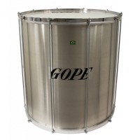 "Photo GOPE SU2260AL-CR - SURDO ALU 22"" CERCLE CHROME"