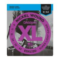 Photo D'ADDARIO ESXL120 DOUBLE BALL SUPER LIGHT 09/42
