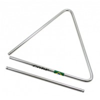 Photo GOPE TRI22 - TRIANGLE 22CM ACIER CHROMÉ