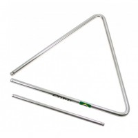 Photo GOPE TRI27 - TRIANGLE 27CM ACIER CHROMÉ