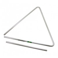 Photo GOPE TRI32 - TRIANGLE 32CM ACIER CHROMÉ