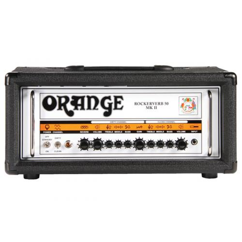ORANGE RK50H ROCKERVERB 50 MKII HEAD BLACK