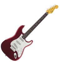 Photo SQUIER VINTAGE MODIFIED SURF STRATOCASTER CANDY APPLE RED