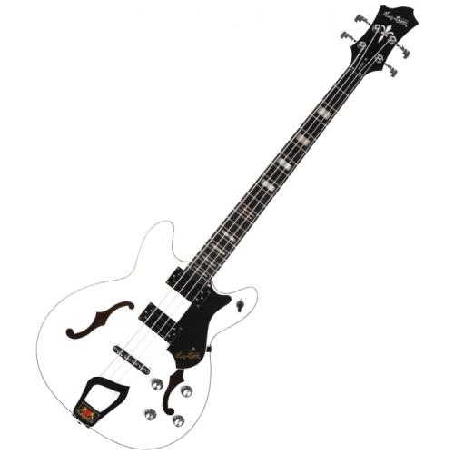 HAGSTROM VIKING BASS 4 CORDES WHITE