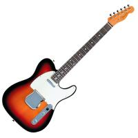 Photo FENDER TELECASTER '62 CUSTOM JAPON 3-COLOR SUNBURST