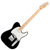 Photo FENDER STANDARD TELECASTER BLACK MAPLE