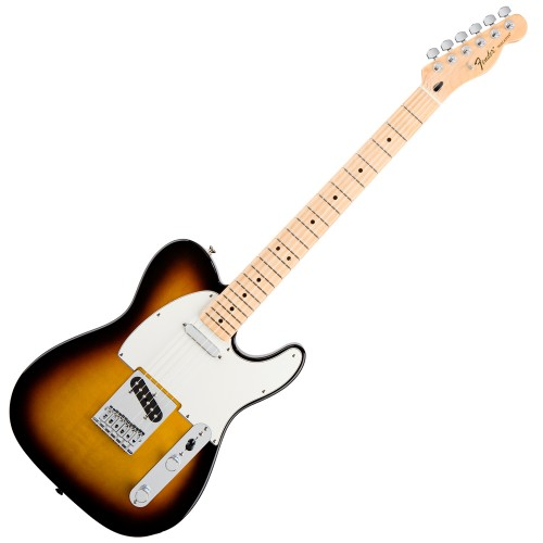 FENDER STANDARD TELECASTER BROWN SUNBURST MAPLE