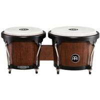 "Photo MEINL MHB100 BONGOS  6"" 3/4 ET  8"" VINTAGE  WINE  BARREL"