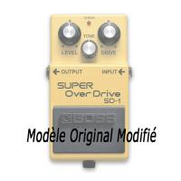 Photo KEELEY ELECTRONICS BOSS SD-1 SUPER OVERDRIVE MOD