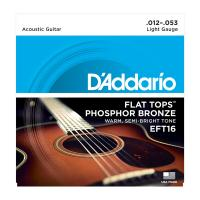 Photo D'ADDARIO EFT16 FLAT TOPS LIGHT 12/53
