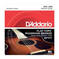 Photo D'ADDARIO EFT17 FLAT TOPS MEDIUM 13/56