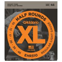 Photo D'ADDARIO EHR310 XL HALF ROUNDS REGULAR LIGHT 10/46