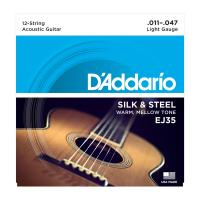 Photo D'ADDARIO EJ35 SILK & STEEL 12-STRING FOLK 11/47