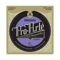 Photo D'ADDARIO EJ44C PRO ARTE COMPOSITES EXTRA HARD TENSION SILVER/CLEAR