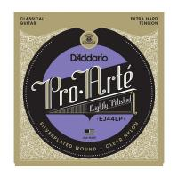 Photo D'ADDARIO EJ44LP PRO ARTE LP COMPOSITES EXTRA HARD TENSION SILVER/CLEAR