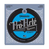 Photo D'ADDARIO EJ46TT PRO ARTE DYNACORE HARD TENSION SILVER/TITANIUM