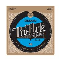 Photo D'ADDARIO EJ48 PRO ARTE HARD TENSION BRONZE/CLEAR