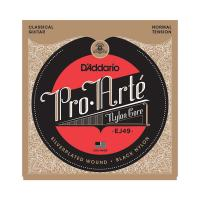 Photo D'ADDARIO EJ49 PRO ARTE NORMAL TENSION SILVER/BLACK