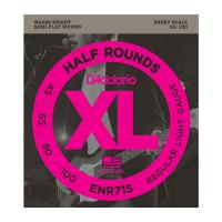 Photo D'ADDARIO ENR71S XL HALF ROUNDS REGULAR LIGHT 45/100 SHORT SCALE