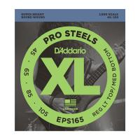 Photo D'ADDARIO EPS165 PROSTEELS CUSTOM LIGHT 45/105 LONG SCALE