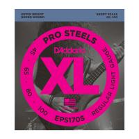 Photo D'ADDARIO EPS170S PROSTEELS LIGHT 45/100 SHORT SCALE