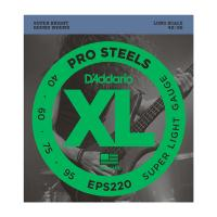 Photo D'ADDARIO EPS220 PROSTEELS SUPER LIGHT 40/95 LONG SCALE