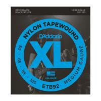 Photo D'ADDARIO ETB92 TAPEWOUND BASS MEDIUM 50/105 LONG SCALE